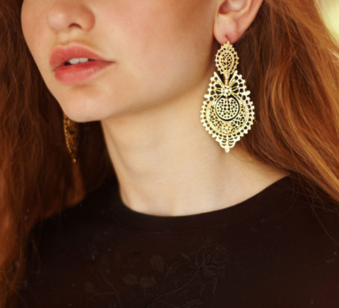 Endless Summer Yellow Gold Earrings
