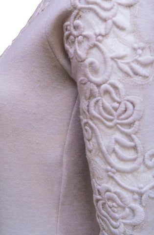 Embroided detail Bodycon Dress