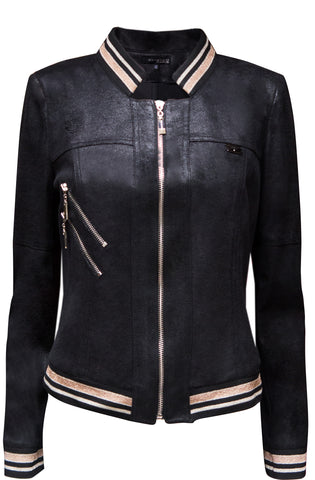 Veste Teddy - available in black or gold