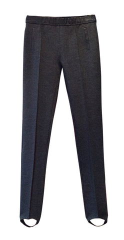 Grey riding trousers