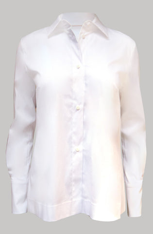 Detachable frill collar shirt