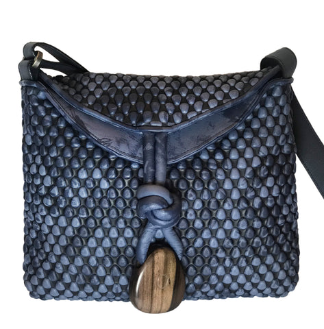 Biker Chic - small with wood tassle