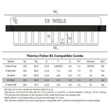 B1 Owl 13-well Thermo Fisher Compatible Comb