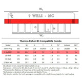 B1 Owl 9-well Thermo Fisher Compatible Comb