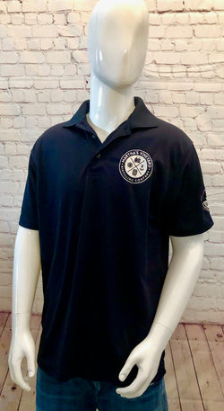 Men's Active Polo Shirt Dark Navy