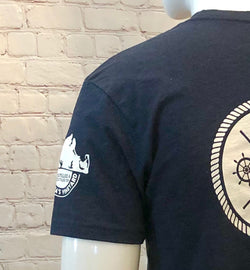Men's Back Logo T-Shirt Navy