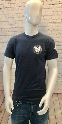 Men's Bottle Back T-Shirt Navy
