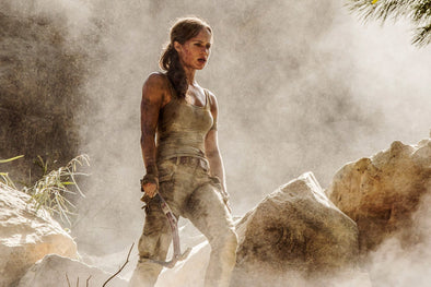 Watch The New Trailer For 'Tomb Raider' Starring Alicia Vikander