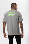 Stroke Logo Oversized T-Shirt Neon Green - The Yard