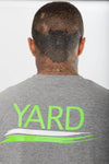 Stroke Logo T-Shirt Neon Green - The Yard
