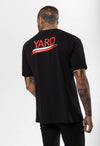 Stroke Logo Oversized T-Shirt Neon Red - The Yard