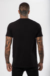 Co-ordinate T-Shirt Black - The Yard