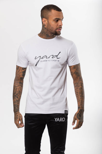 Co-ordinate T-Shirt White - The Yard