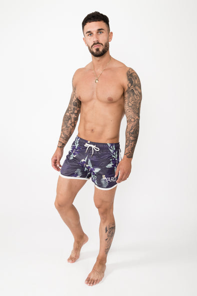 Desire Swim Shorts Navy - The Yard