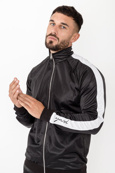 Anima Track Jacket Black - The Yard