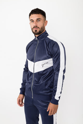 Anima Track Jacket Chevron - The Yard