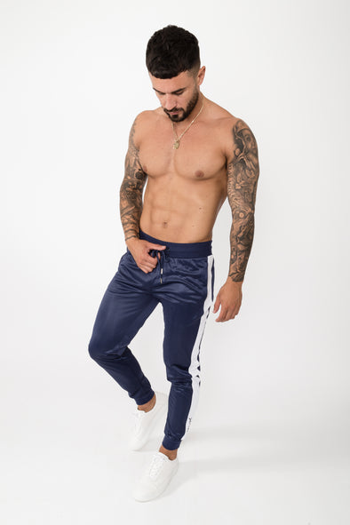 Anima Track Pants Navy - The Yard