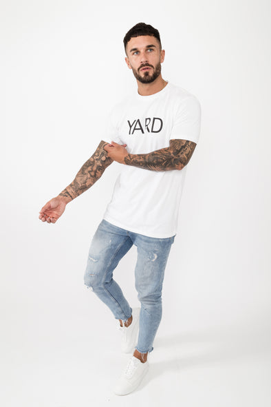 Statement T-Shirt White - The Yard