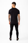 Signature T-Shirt Black - The Yard