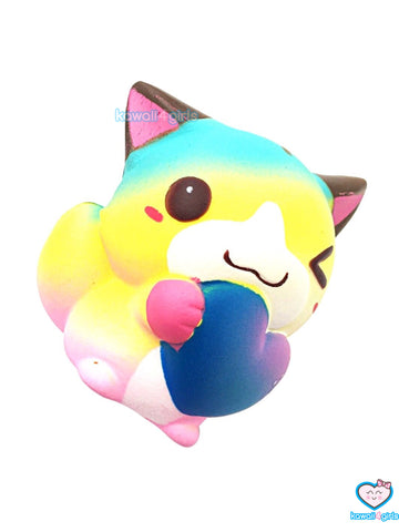 Kawaii Love Cat Squishies