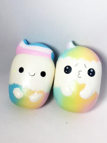 Minty Eggs Squishies