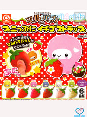 Alpaca Strawberry Squeeze Toys
