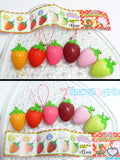 Japan Alpaca Strawberry Squeeze Toys
