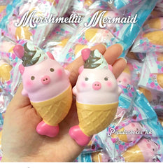 Licensed Piggy Mermaid Squishies