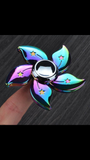 Fidget Spinner Galaxy Flower