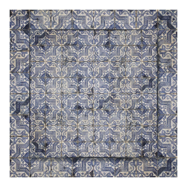 Antique Blue Tile