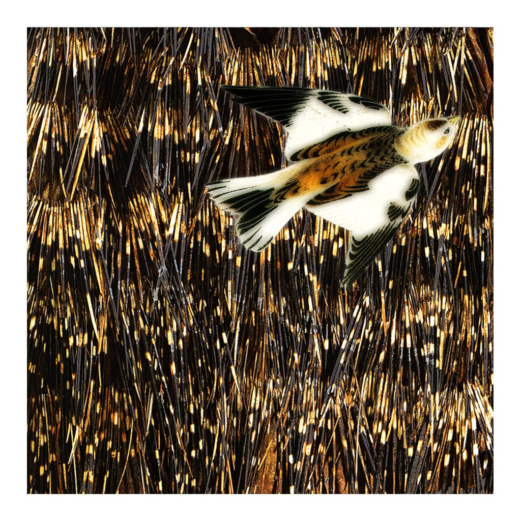 Sparrow on Quills Tapestry