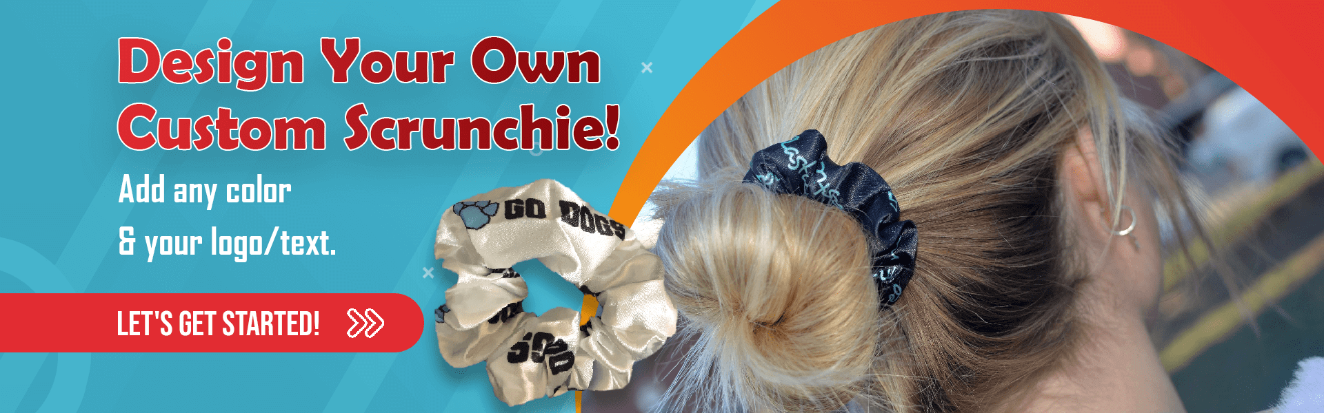Custom Scrunchies