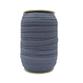 Denim Fold Over Elastic – 100 yards - Elastic Band Co.