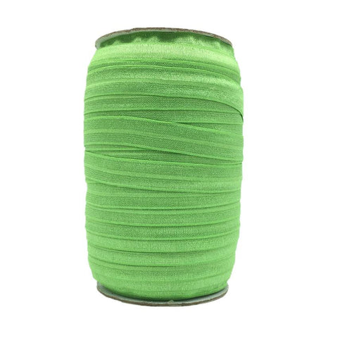 Grass Green Fold Over Elastic – 100 yards