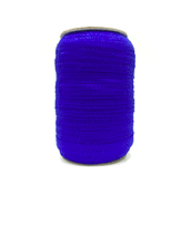 Royal Blue Fold Over Elastic – 100 yards