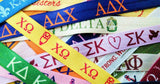 Chi Omega Hair Ties (25-pack) - Elastic Band Co.