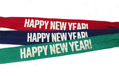 Happy New Year! Headband - Elastic Band Co.