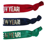 Happy New Year! Hair Tie - Elastic Band Co.