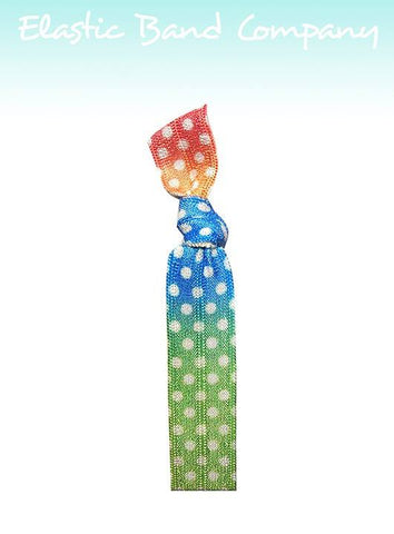 Polka Dot Gradient Headband - Elastic Band Co.