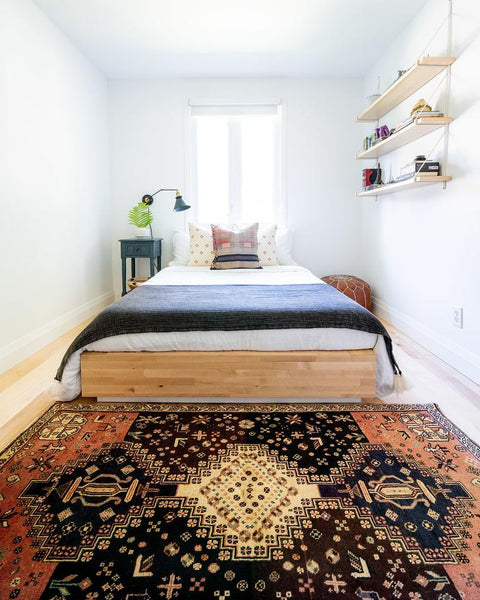 boys bedroom and persian rug