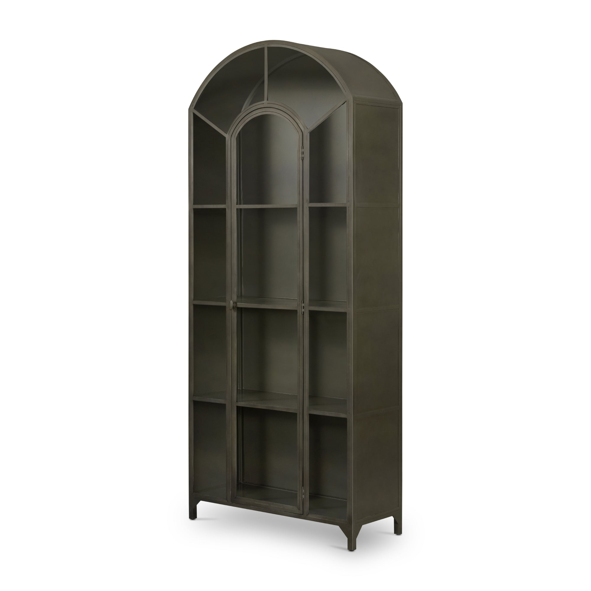 Beatty Gunmetal Cabinet