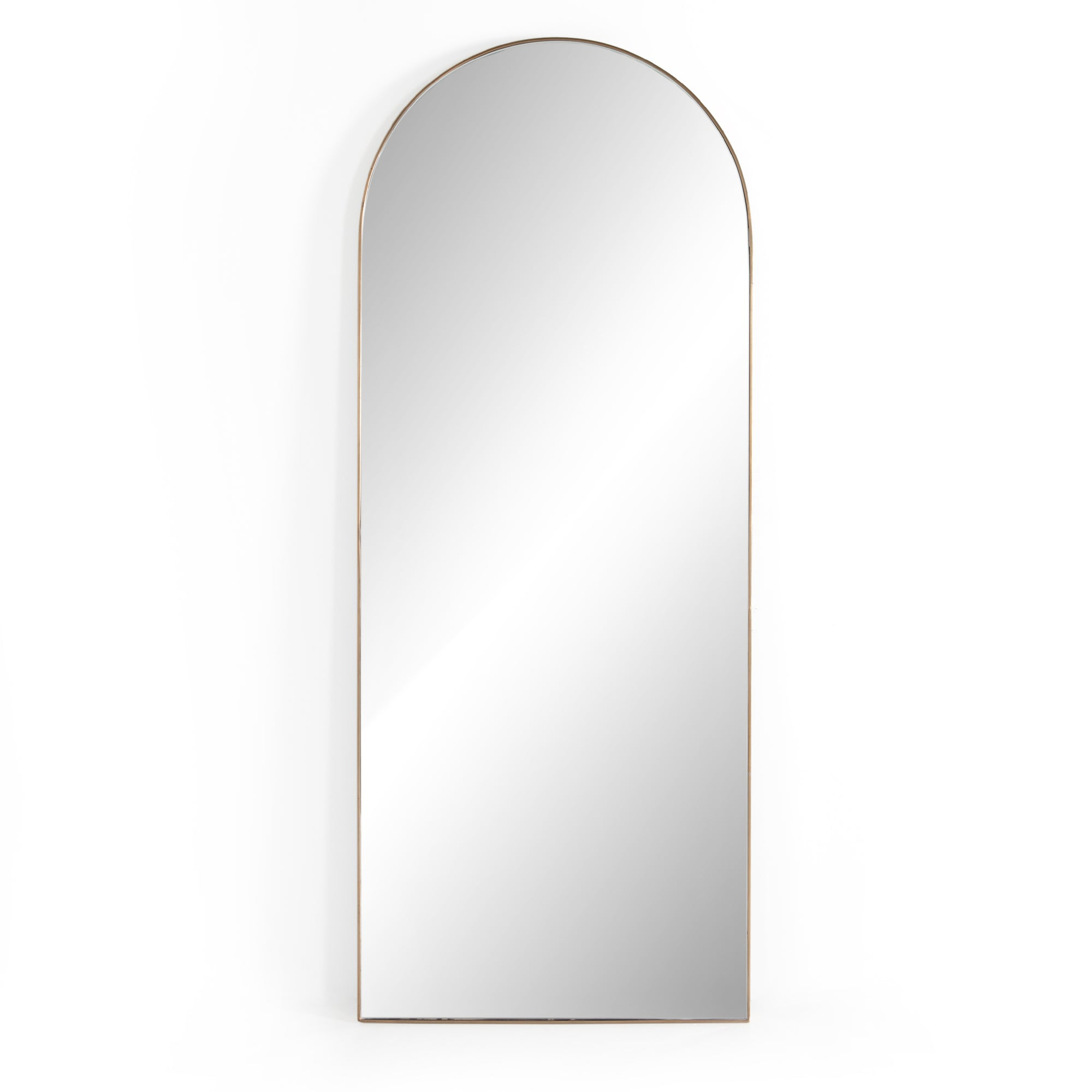 Georgie Rose Gold Floor Mirror