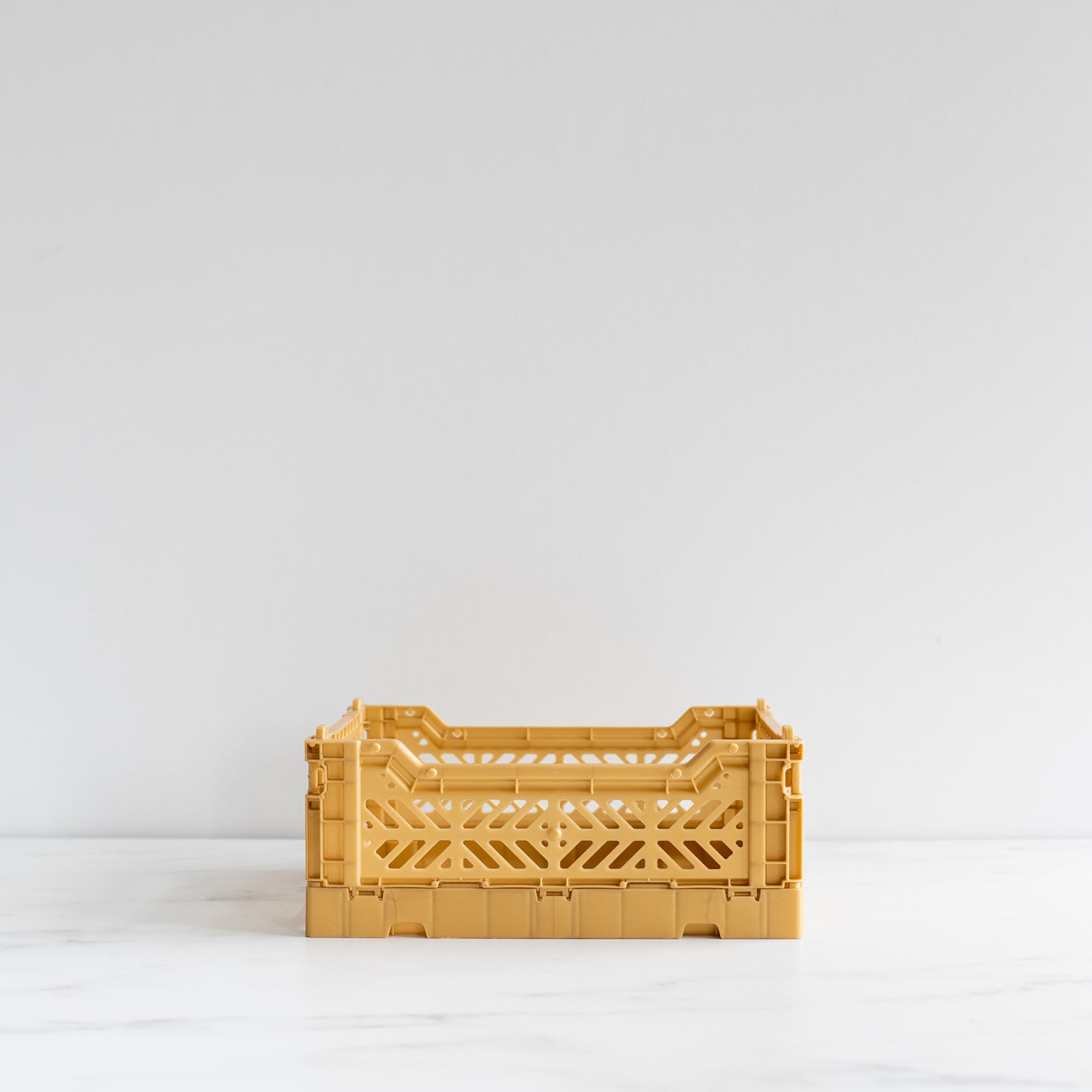 Gold Folding Crate