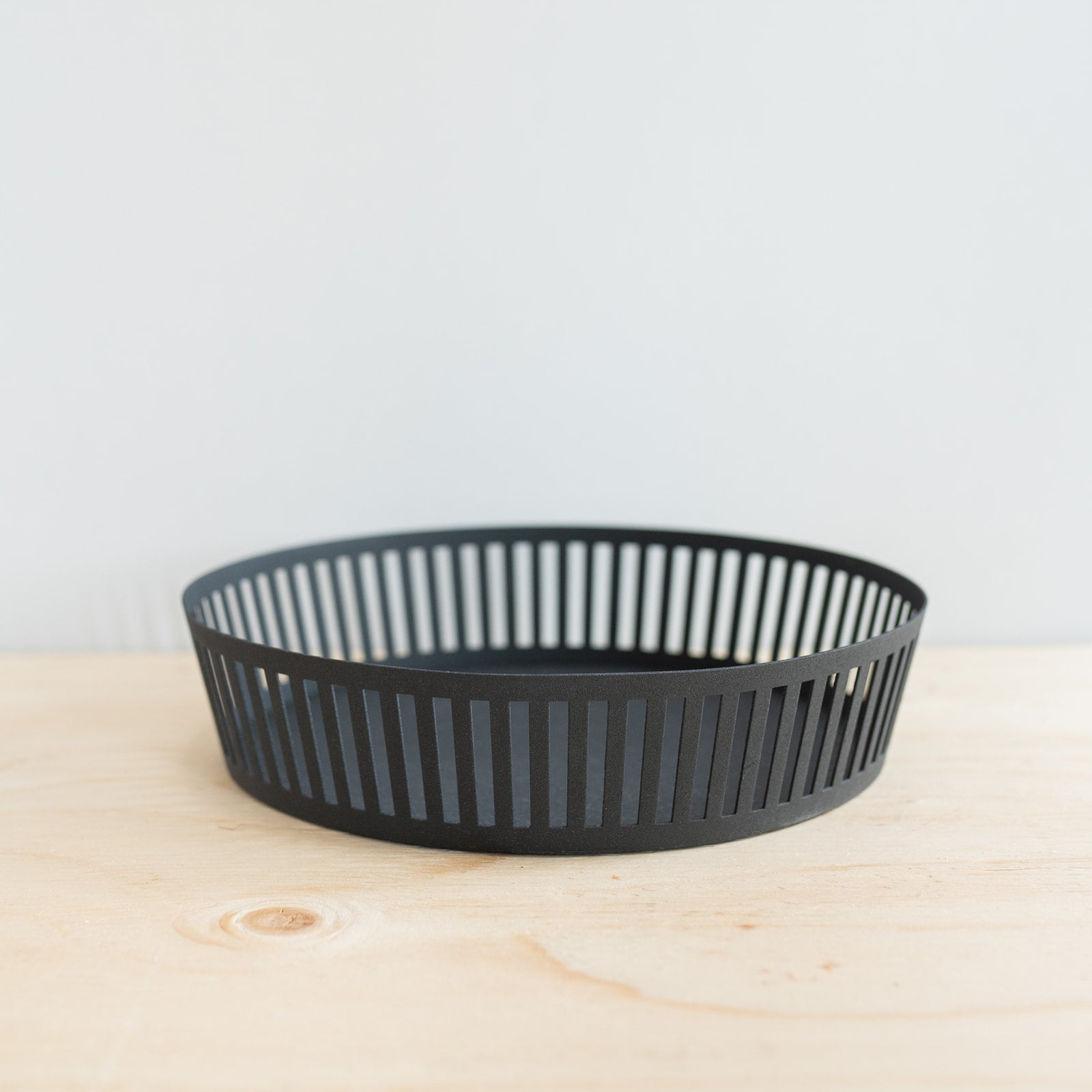 Black Steel Fruit Tray