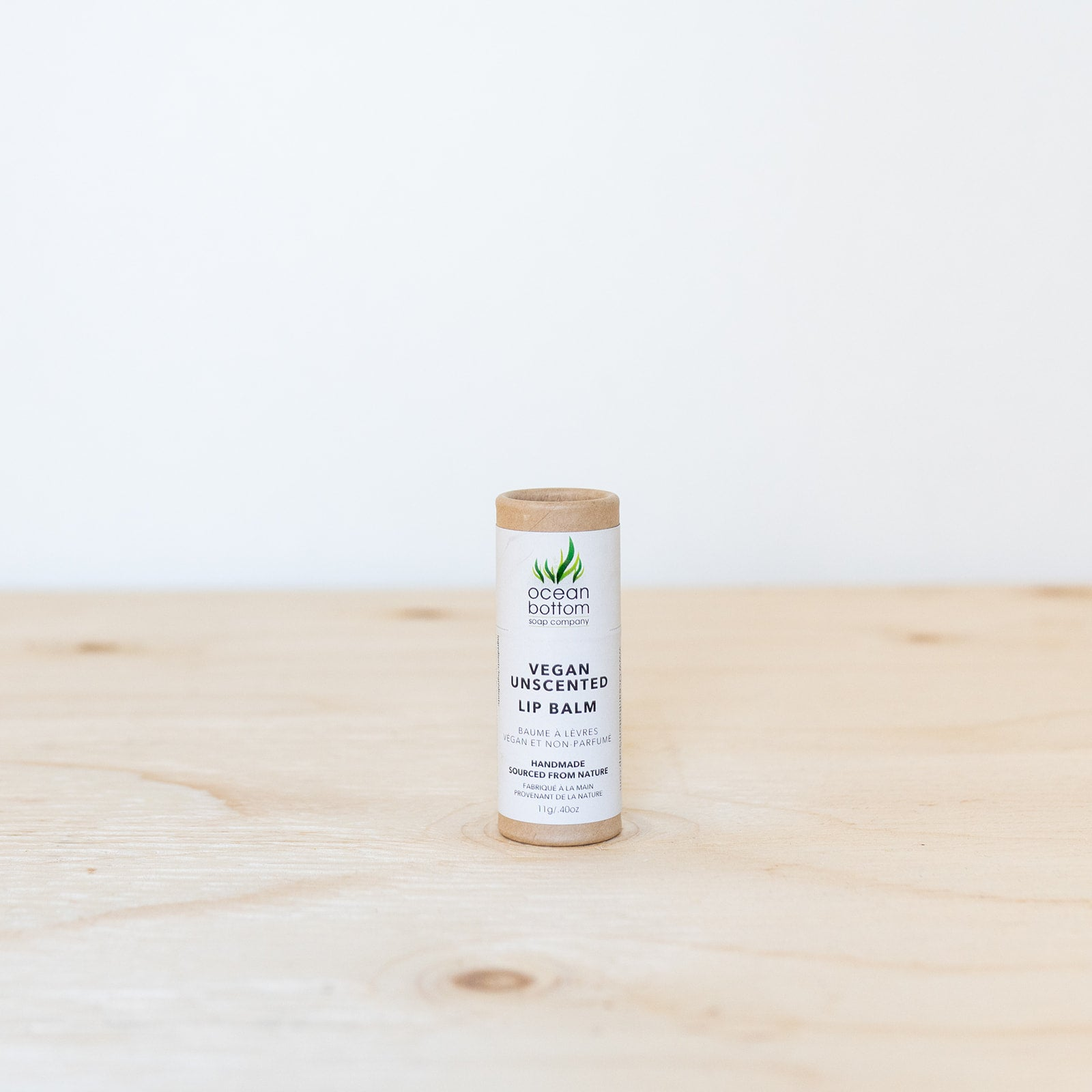 Vegan Unscented Lip Balm
