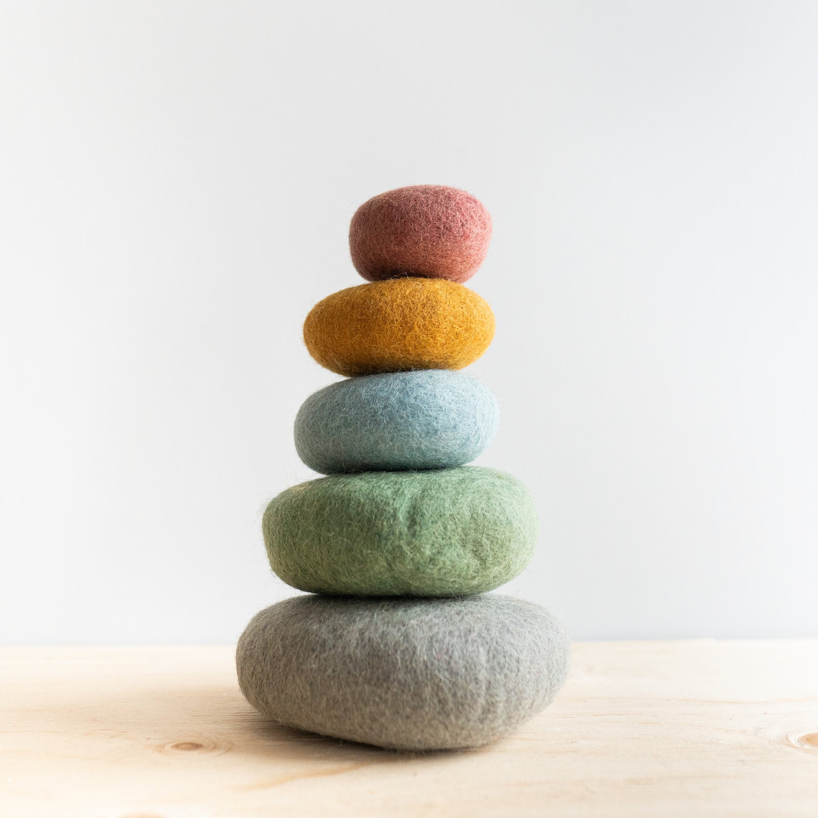 Felted Wool Stacking Set - Rug & Weave