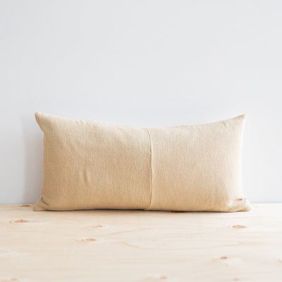 Karen Natural Pillow - Rug & Weave