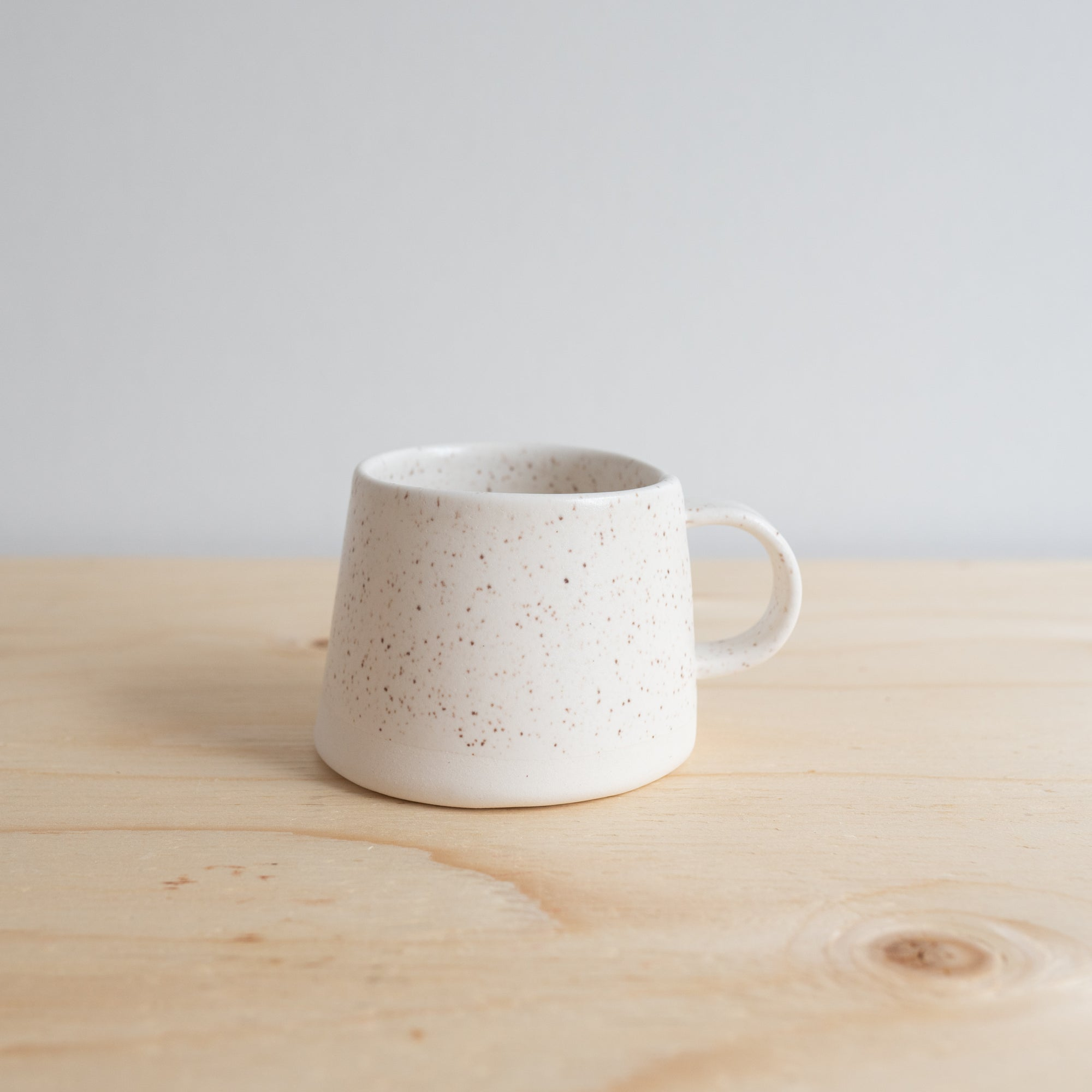 Speckle White Satin Mug by Atelier Make - Rug & Weave
