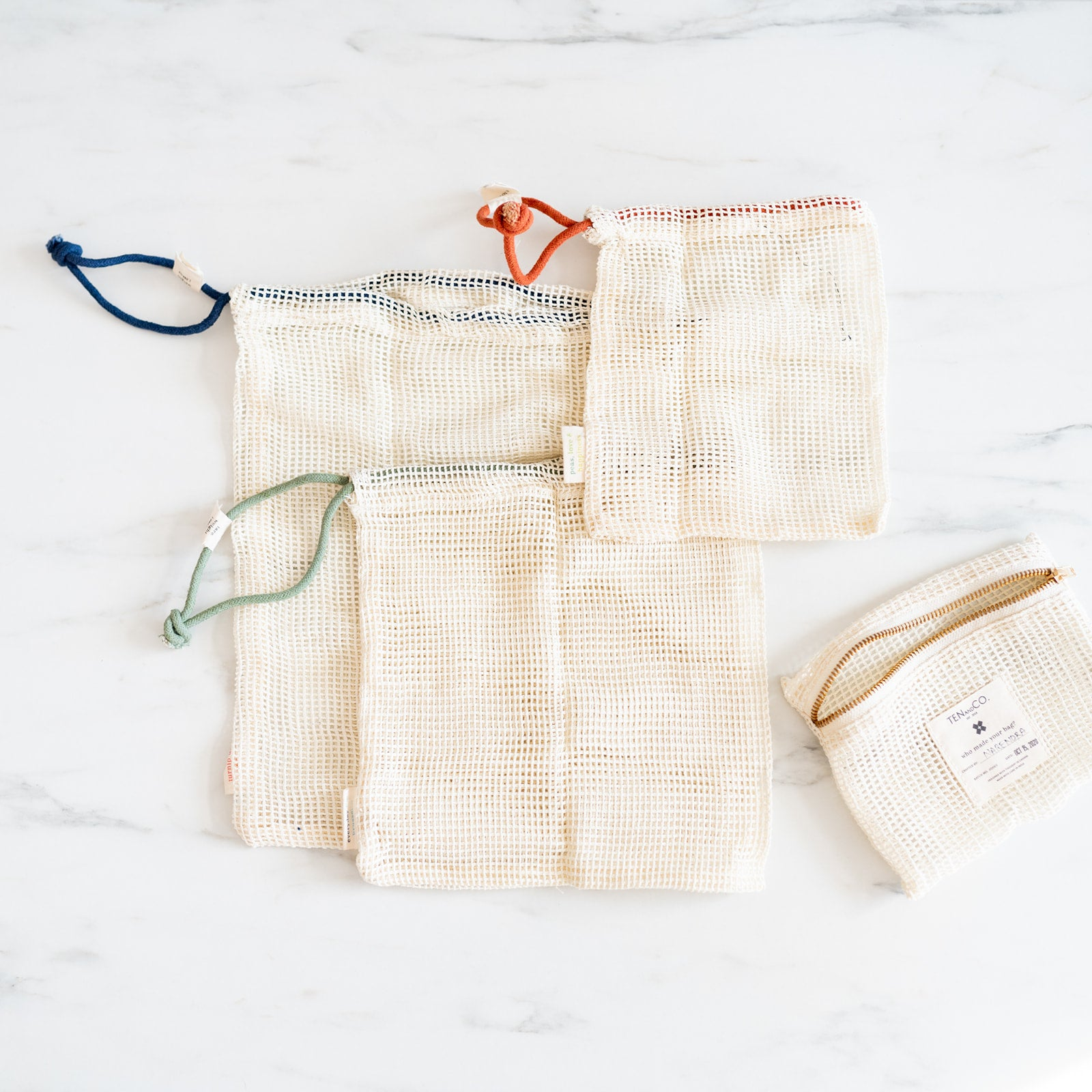 Cotton Produce Bags Set