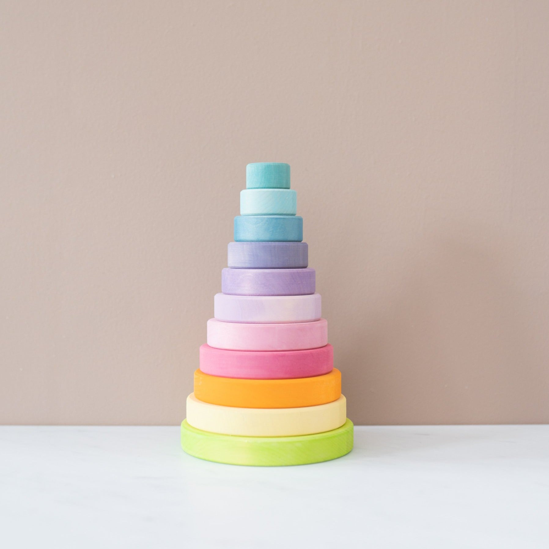 Pastel Stacking Tower
